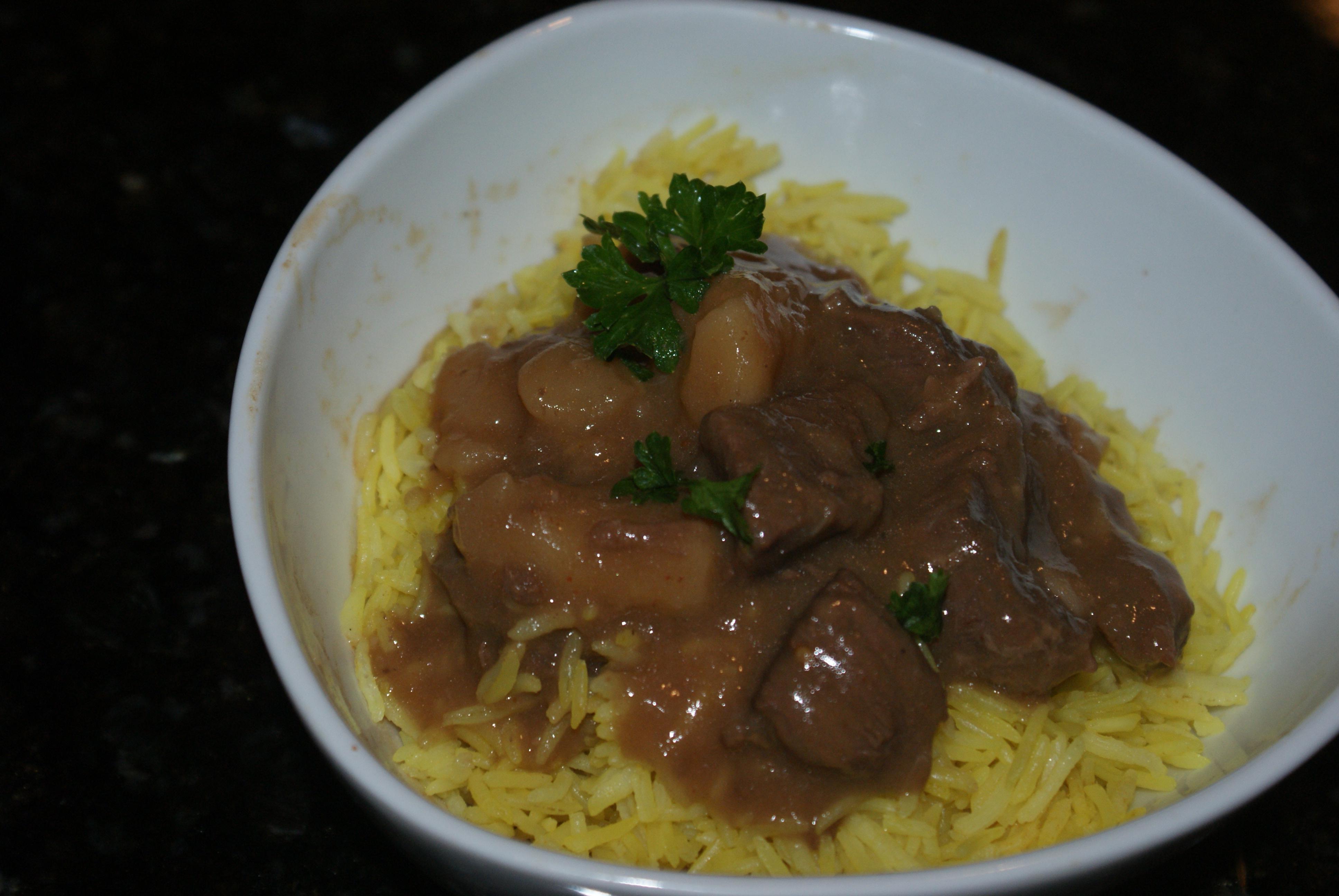 Coconut Beef Stew (Massaman Beef) |